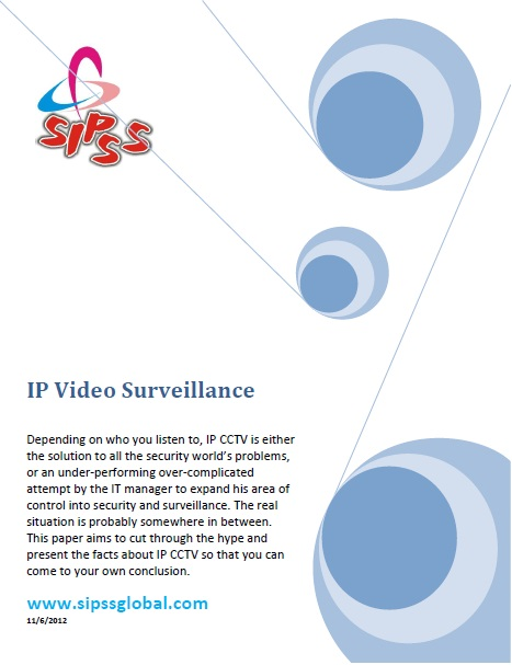IP CCTV Whitepaper