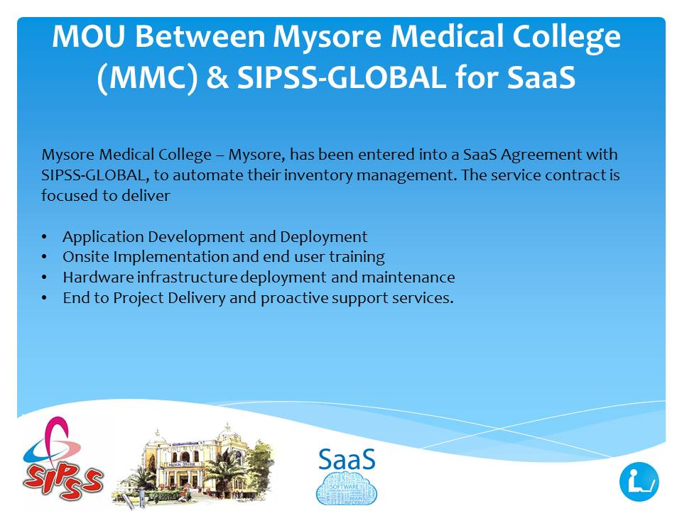 Mysore Medical College - SaaS - SIPSS-GLOBAL