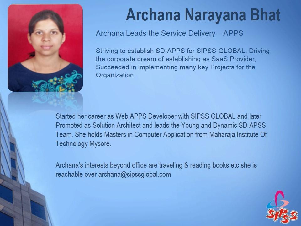 Archana Narayana Bhat