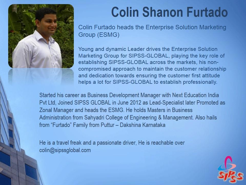 Colin Shanon Furtado