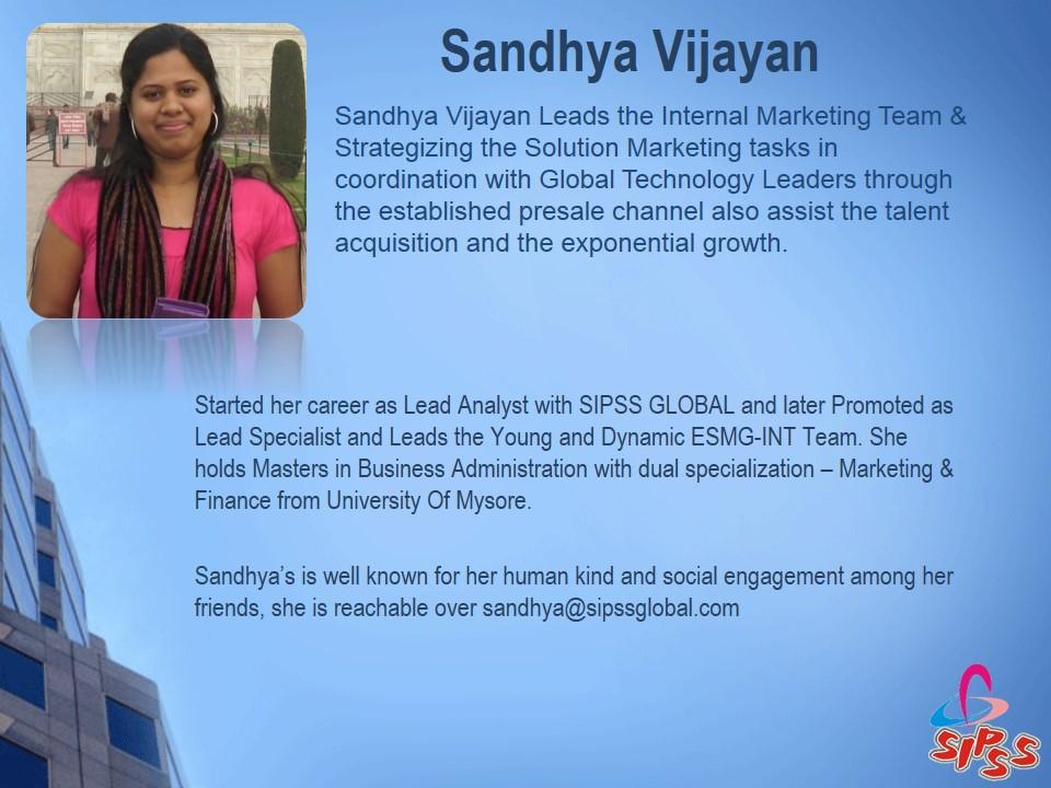 Sandhya Vijayan