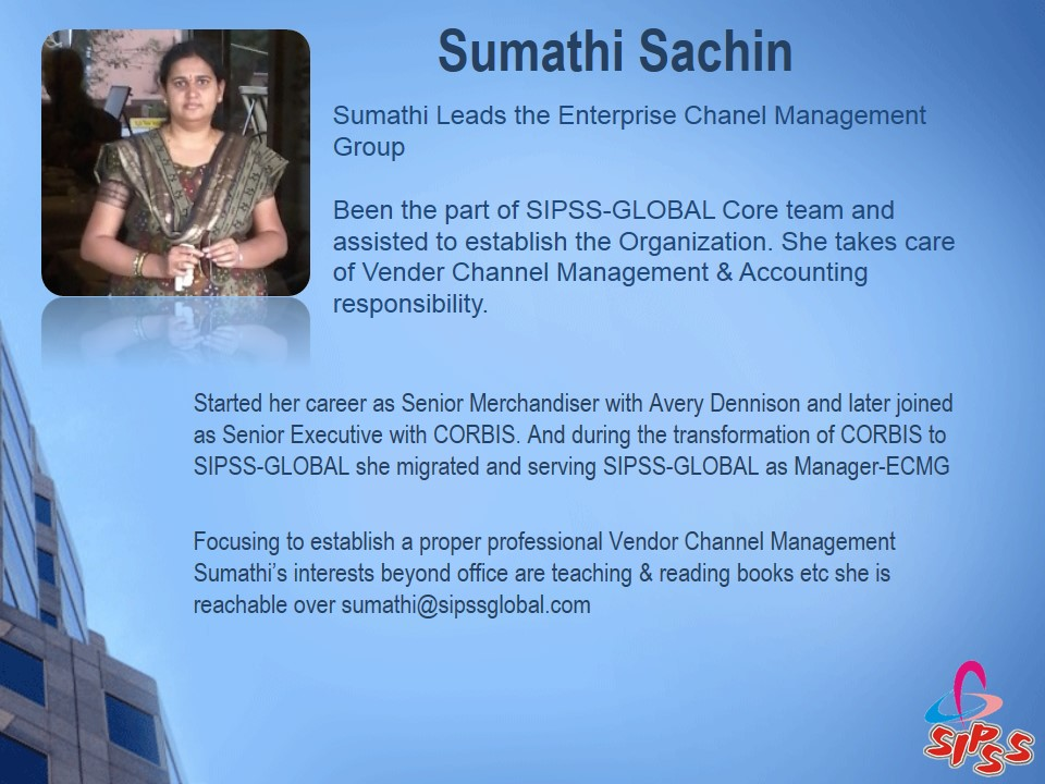 Sumathi Sachin