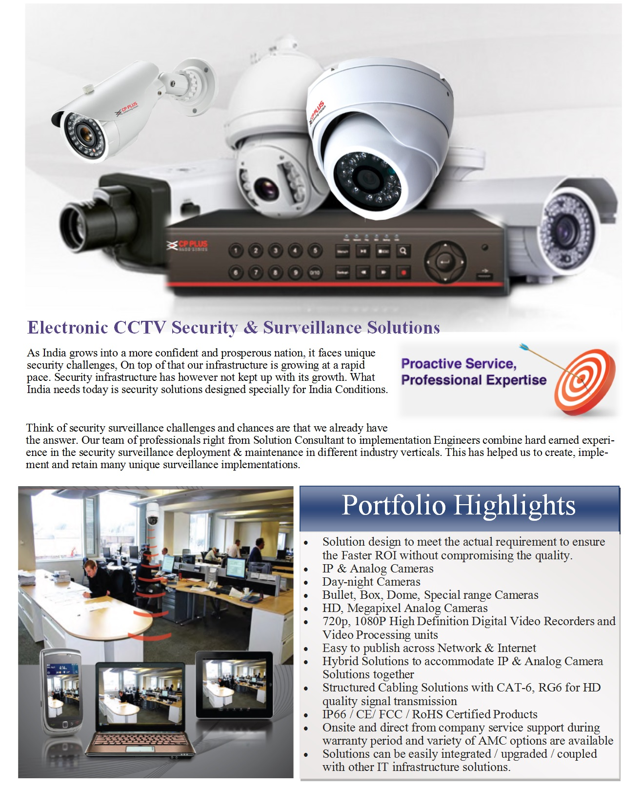 Physical Security Cctv Solutions Integrating Values