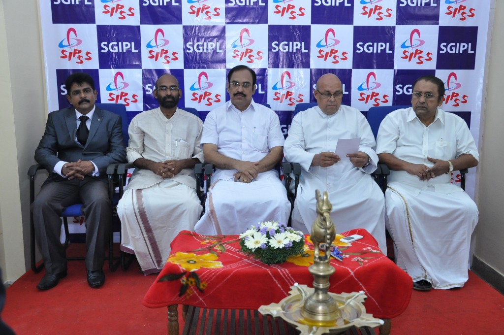 SIPSS GLOBAL INDIA PVT LTD Thrissur Regional Office inauguration function -    Dignitaries on the dais
