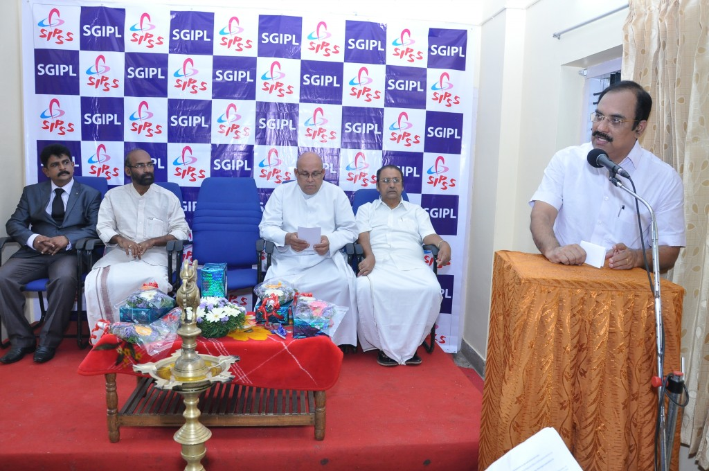 SIPSS GLOBAL INDIA PVT LTD Thrissur Regional Office inauguration function -     Mr. Rajan J Pallan (Hon. Mayor Thrissur Municipal Corporation) - during his inaugural speech