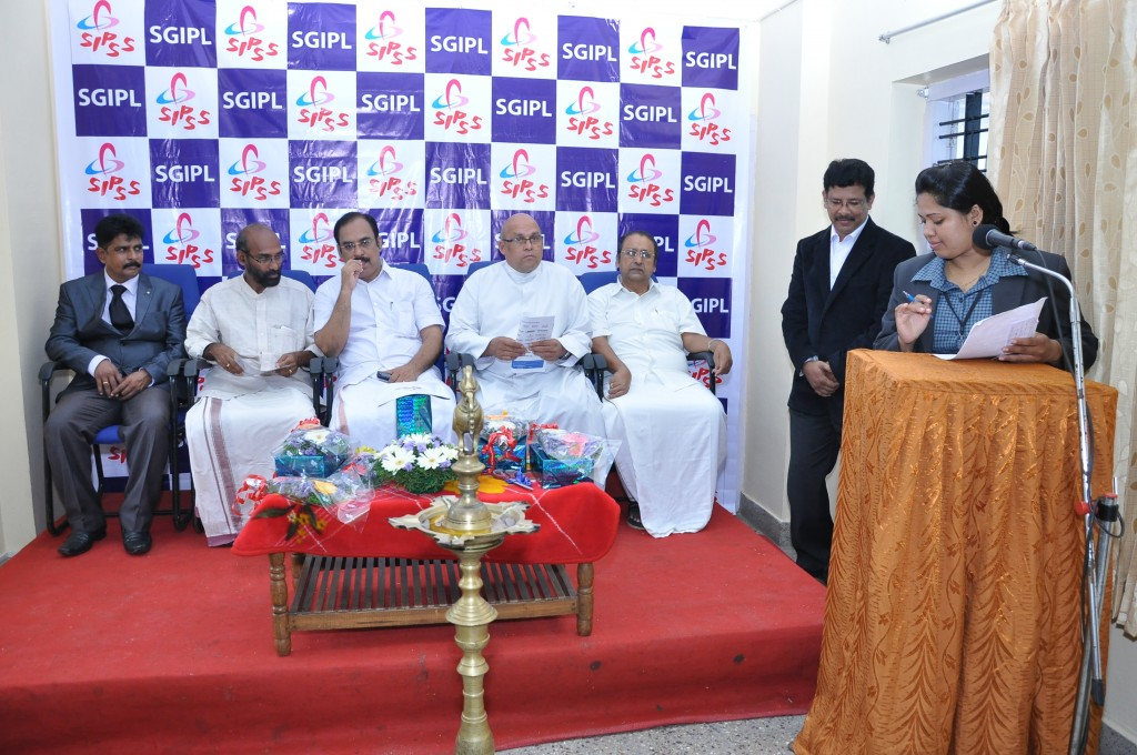SIPSS GLOBAL INDIA PVT LTD Thrissur Regional Office inauguration function -         Ms Sandhya Vijayan coordinating the Meeting