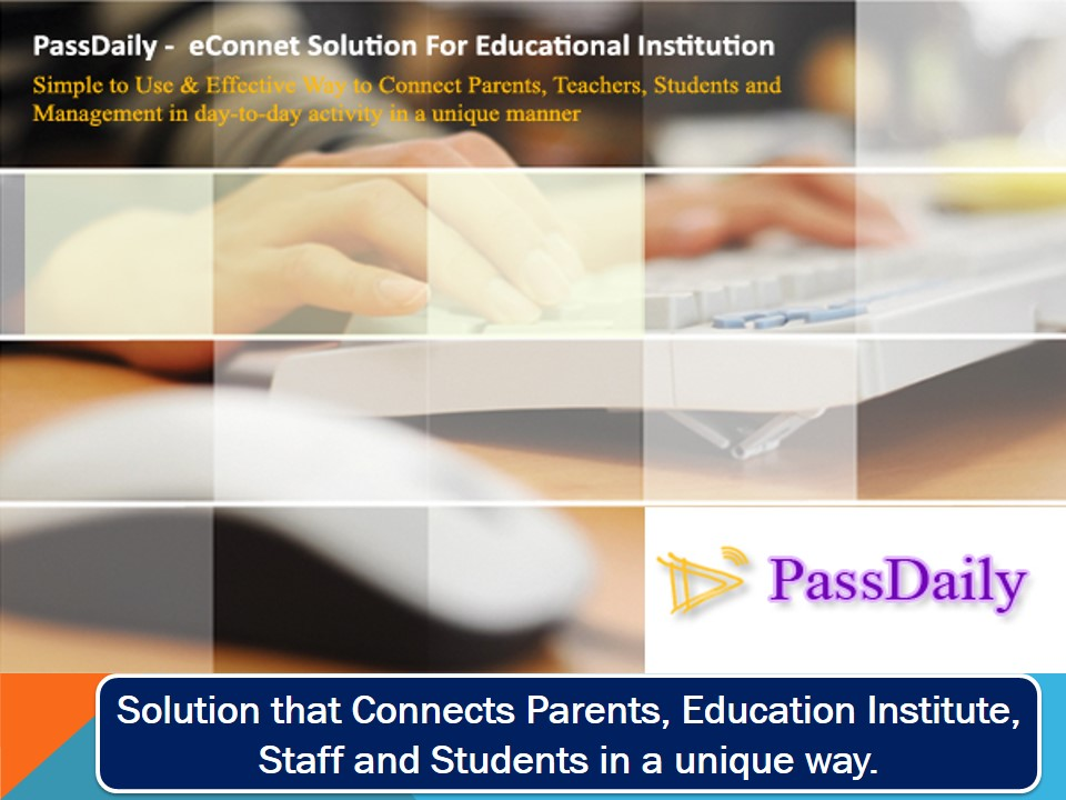 passdaily, education erp solutions, campus management